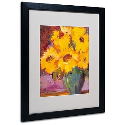 Trademark Fine Art 'Sunflower #5' 16