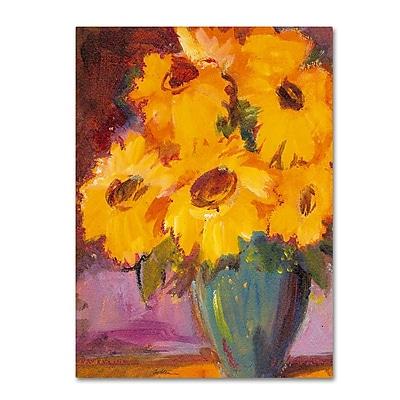 Trademark Fine Art 'Sunflower #5' 35