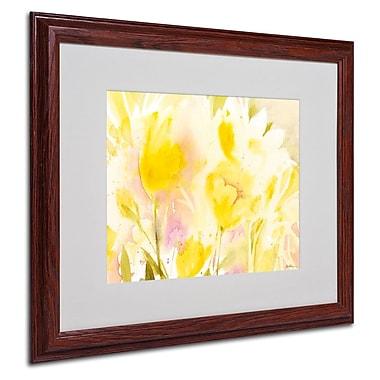 Trademark Fine Art 'Yellow Gardens' 16