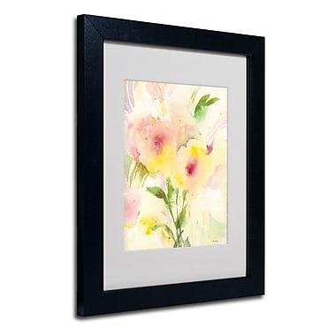 Trademark Fine Art 'Two Garden Flowers'