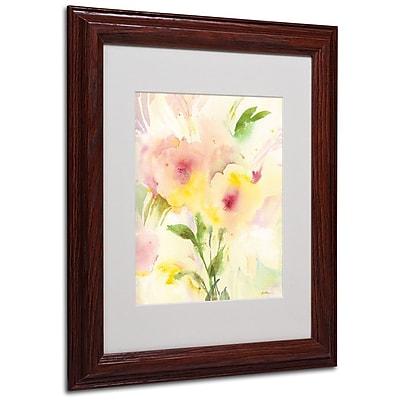 Trademark Fine Art 'Two Garden Flowers' 11