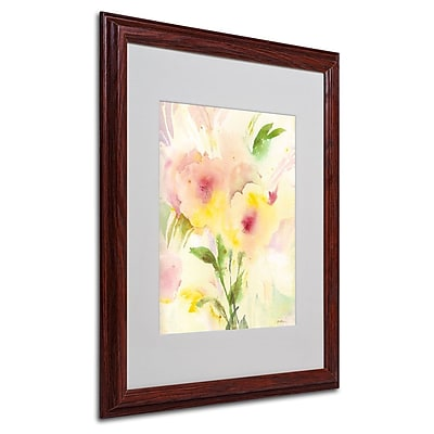 Trademark Fine Art 'Two Garden Flowers' 16