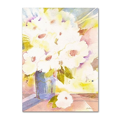Trademark Fine Art 'Boquet In White' 24