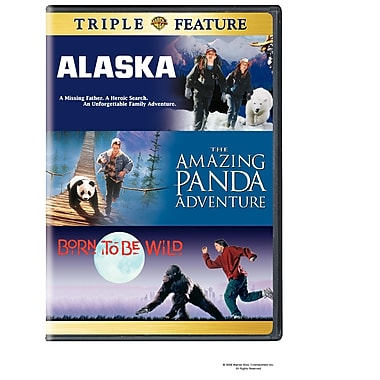 Born To Be Wild/Alaska/The Amazing Panada Adventure (DVD)