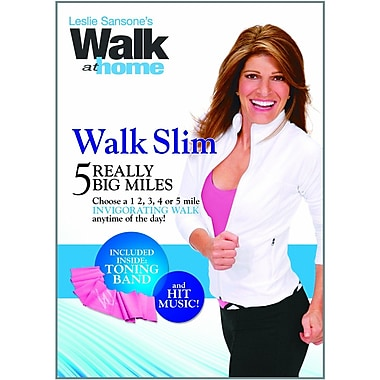 Leslie Sansone: Walk at Home: Walk Slim: 5 Really Big Miles (DVD)
