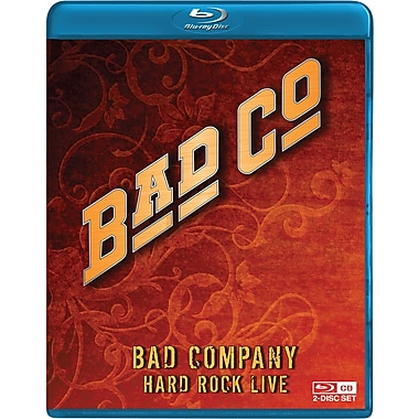 Bad Company - Hard Rock Live w/CD (Blu-Ray)