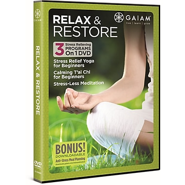 Gaiam: Relax & Restore (DVD)