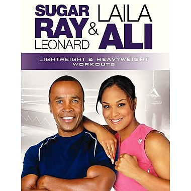 Gaiam: Sugar Ray Leonard and Laila Ali: Lightweight & Heavyweight Workouts (DVD)
