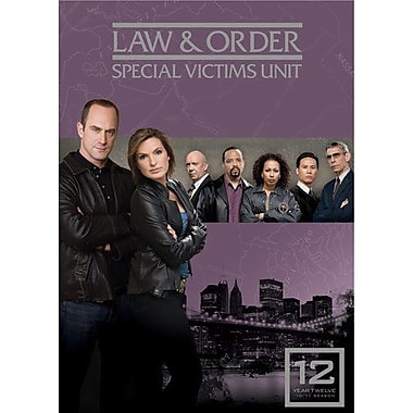 Law & Order: Special Victims Unit: Season 12 (DVD)