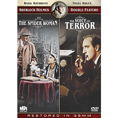 Sherlock Holmes: The Spider Woman/Voice of Terror (DVD)