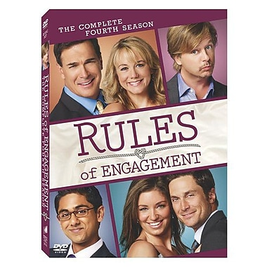 Rules of Engagement: The Complete Fourth Season (DVD)