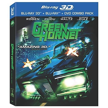 The Green Hornet (3D Blu-Ray)