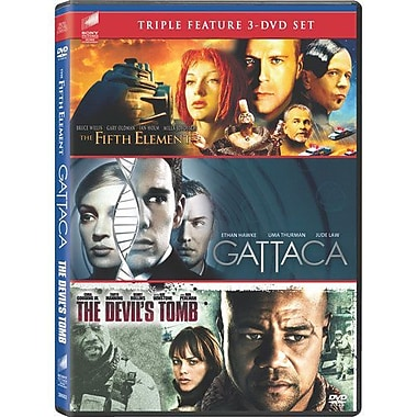 The Fifth Element/Gattaca/The Devil's Tomb (DVD)