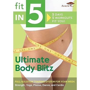 Fit in 5: Ultimate Body Blitz (Acacia) (DVD)