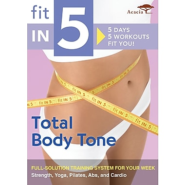 Fit in 5: Total Body Tone (Acacia) (DVD)