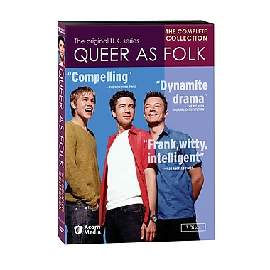 Queer as Folk: Complete UK Series (DVD)