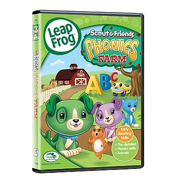 Leapfrog: Scout & Friends Phonics Farm (DVD)