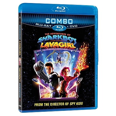 Adventures of Sharkboy and Lavagirl Combo (Blu-Ray + DVD)