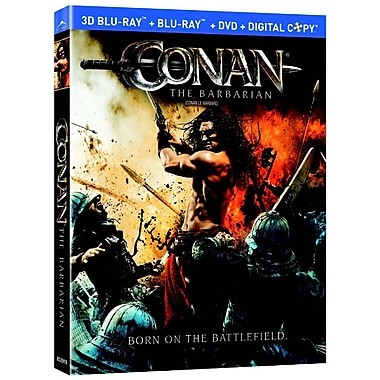 Conan The Barbarian 3D (3D Blu-Ray + Blu-Ray + DVD + Digital Copy)
