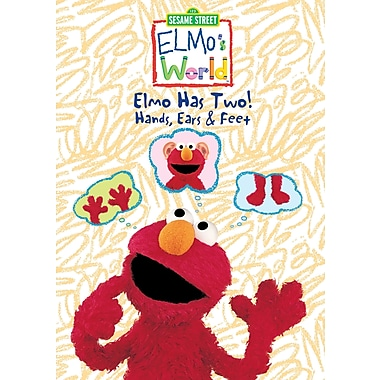 Sesame Street:Elmos World:Elmo Has Two Hands, Ears, Hands and Feet! (DVD)
