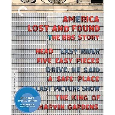 America Lost and Found - The BBS Story (Head; Easy Rider; Five Easy Pieces; Drive, He Said; A Safe Place; and more)