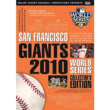 The San Francisco Giants2010 World Series (DVD)