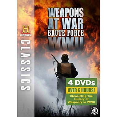 History Classics: Weapons At War: Brute Force Wwii (DVD)
