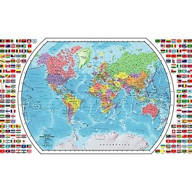Replogle World Wall Map, 33