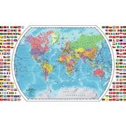"""Replogle World Wall Map, 33"""" x 49"""""""
