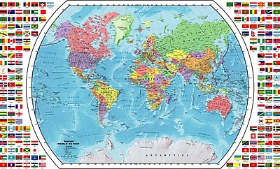 Replogle World Wall Map, 33