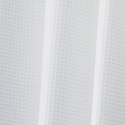 "InterDesign® 72"" x 84"" Carlton Polyester Long Shower Curtain, White"