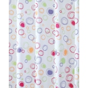 """InterDesign® 72"""" x 72"""" Doodle Polyester Shower Curtains"""