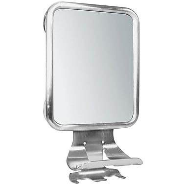 InterDesign® Forma Suction Fog Free Mirror Center