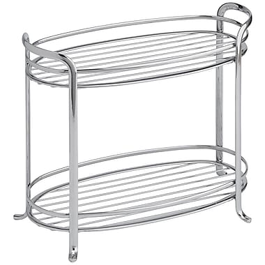 InterDesign® Axis 2-Tier Shelf, Chrome
