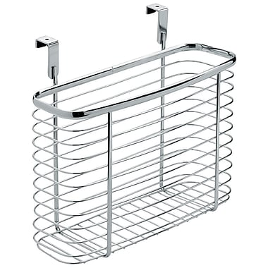 InterDesign® Axis Over The Cabinet X5 Basket, Silver