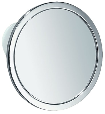 InterDesign® Suction Fog-Free Mirror, Chrome
