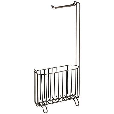 InterDesign® Classico Magazine and Tissue Stand, Bronze