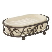 InterDesign® Twigz Soap Dish, Bronze/Vanilla