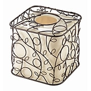 InterDesign® Twigz Boutique Box, Bronze/Vanilla