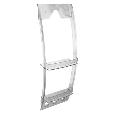 InterDesign® Grand Arc Shower Caddy, Clear