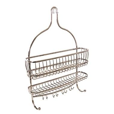 InterDesign® York Lyra Jumbo Shower Caddy, Satin