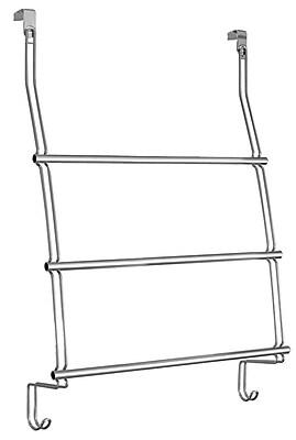 InterDesign® Classico Over the Shower Door Towel Rack, Chrome