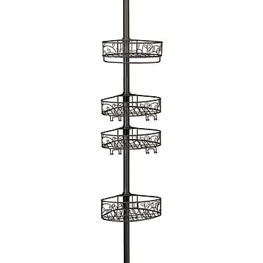 InterDesign® Twigz Tension Shower Caddy, Bronze