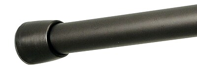 InterDesign® Cameo Small Shower Curtain Tension Rod, Bronze