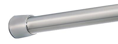 InterDesign® Forma Medium Shower Curtain Tension Rod, Brushed Stainless Steel