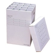 Advanced Organizing Systems 16 Slot Rolled Filing Box; 37'' H x 16'' W x 16'' D
