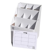 Advanced Organizing Systems 9 Slot Rolled Document Rolled Filing Box