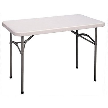 Correll, Inc. 48'' Rectangular Folding Table; 24 x 48