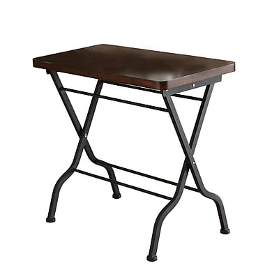 Monarch Metal Accent Table, Cherry, Each (I3309MSI)