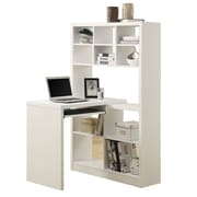Monarch Specialties Inc. Corner Computer Desk, White (I 7022)